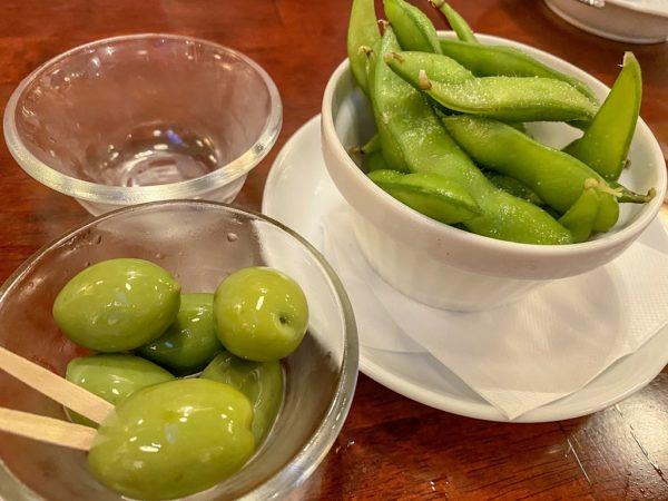 オリーブ枝豆