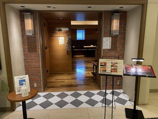 ホテル側入口