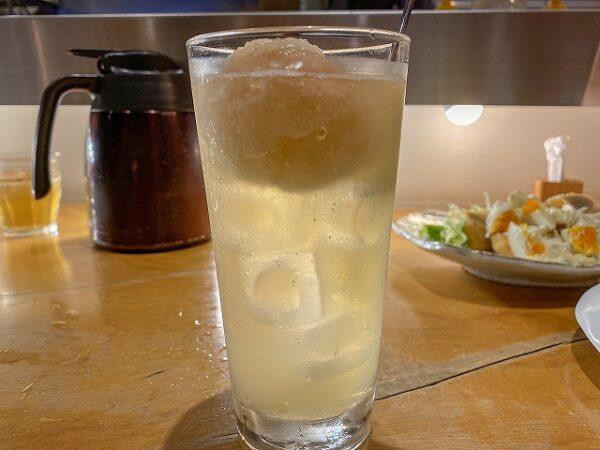シャリシャリ塩レモンサワー